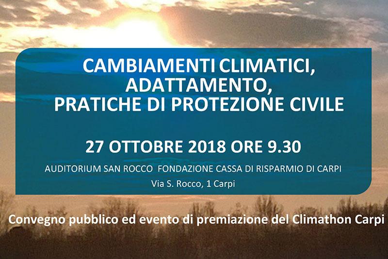 Cambiamenti climatici, Adattamento, Pratiche di protezione civile