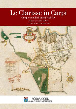 Le Clarisse in Carpi - copertina del libro di Fondazione Cassa di Risparmio di Carpi